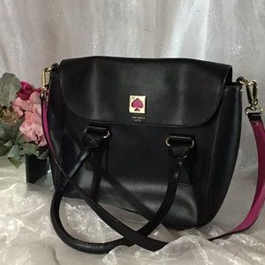Kate Spade NY Black Crossbody Purse